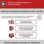 criteria for audit exemption