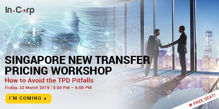 Singapore New Transfer Pricing Workshop