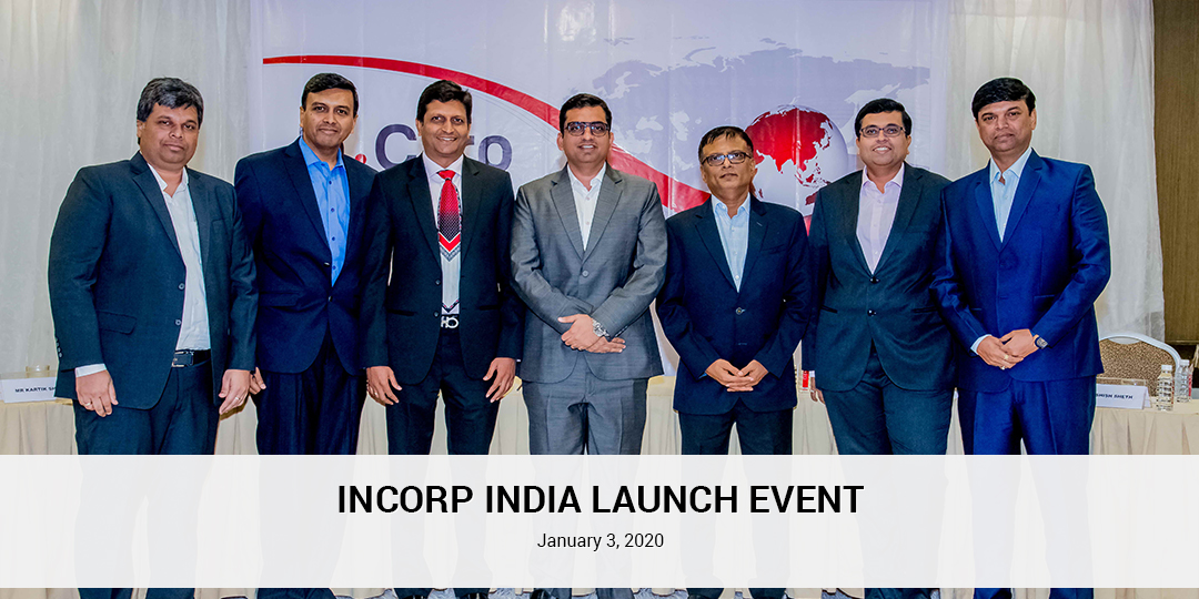 InCorp India launch event