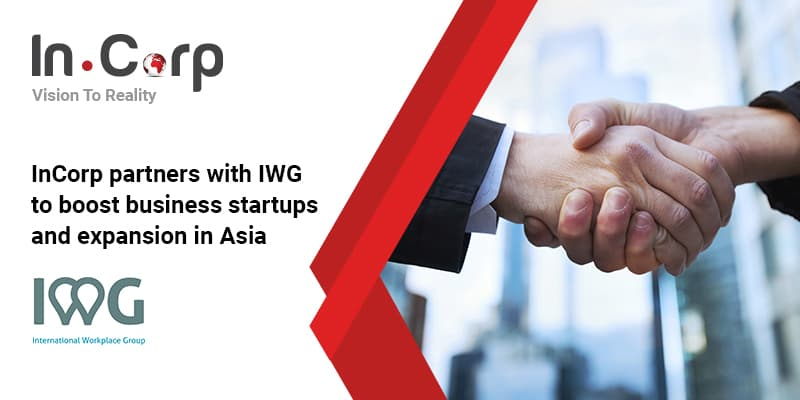 InCorp partners with IWG to boost business startups and expansion in Asia