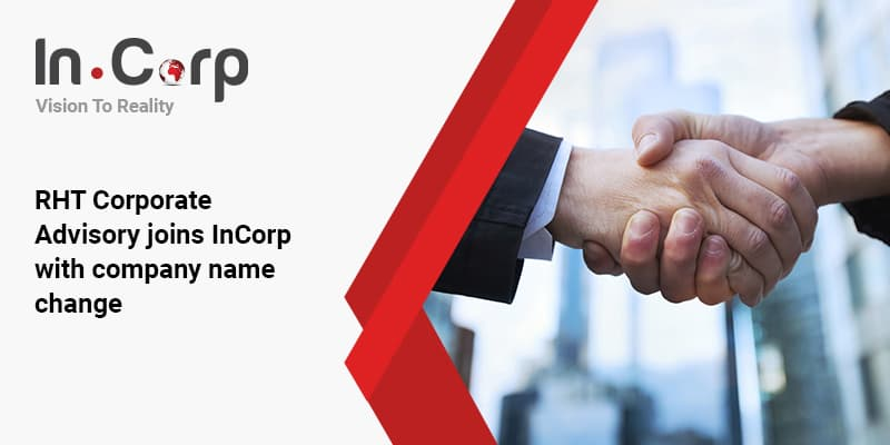 RHT Corporate Advisory joins InCorp with company name change
