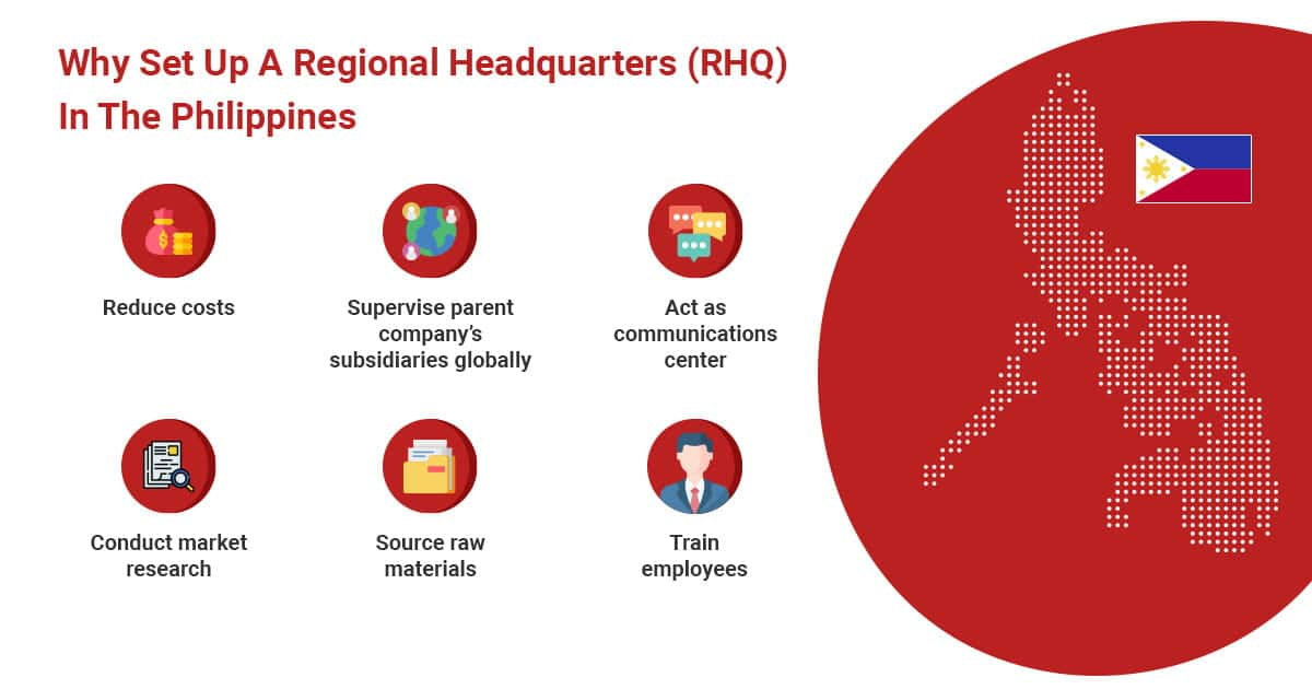 Why Set Up A Regional Headquarters (RHQ) In The Philippines