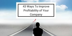 ways to improve profitablity