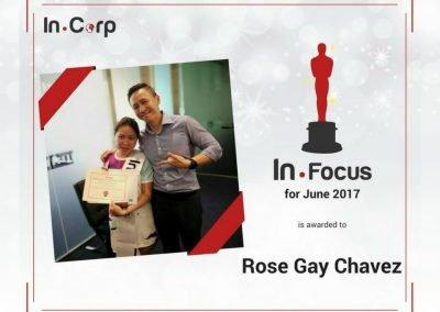 In.Focus Awardee for June: Rose Gay Chavez