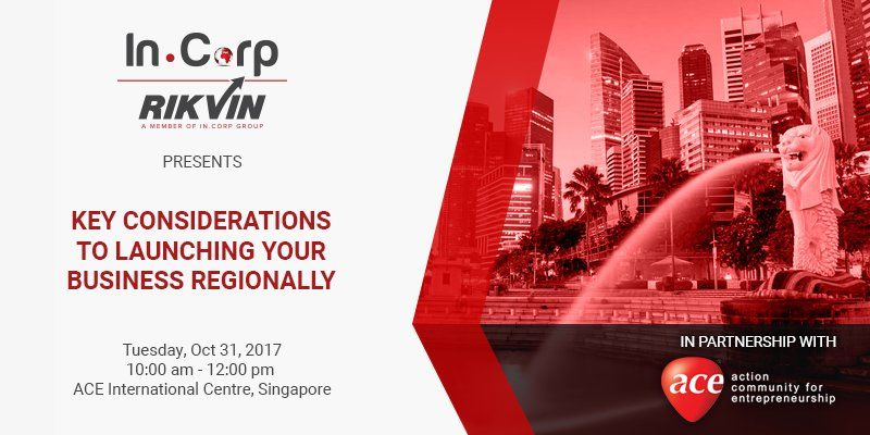 "InCorp Presents ""Key Considerations to Launching Your Business Regionally"""