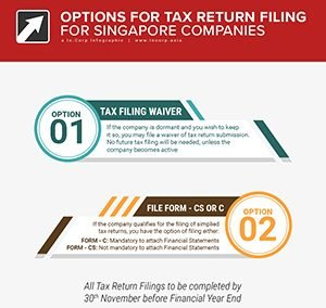 Filing Your Singapore Company Tax Returns – Options