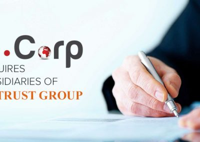 In.Corp Group Acquires Subsidiaries of CA Trust Group, Expands Corp Sec, Accounting & Tax Capabilities and Senior Management Team