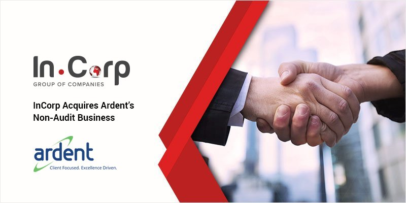 InCorp Acquires Ardent's Non-audit Business