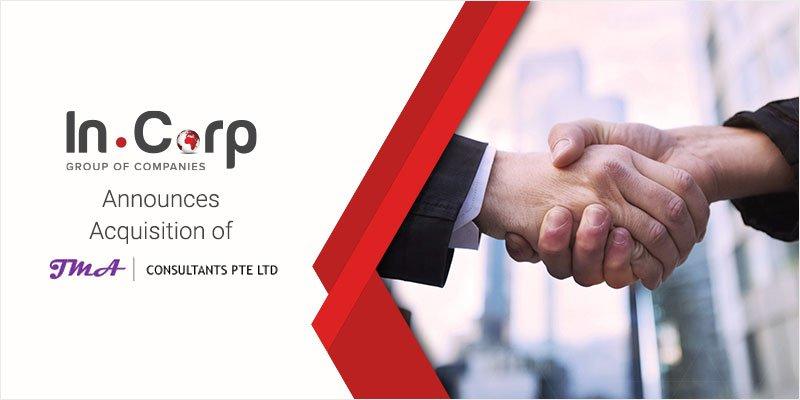 InCorp Group Announces Acquisition of JMA Consultants
