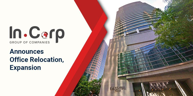 InCorp Group Announces Office Relocation, Expansion