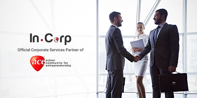In.Corp Group (with Rikvin as Key Subsidiary) Appointed as Official Corporate Services Partner of ACE