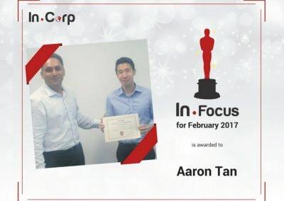 In.Focus Awardee for February: Aaron Tan