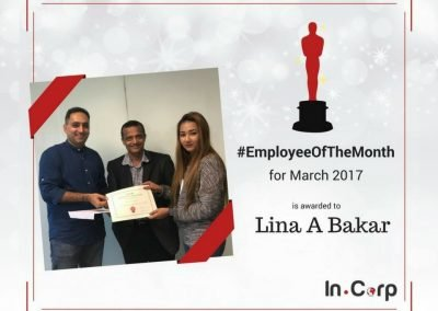 In.Focus Awardee for March: Lina A Bakar
