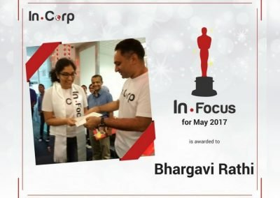 In.Focus Awardee for May: Bhargavi Rathi