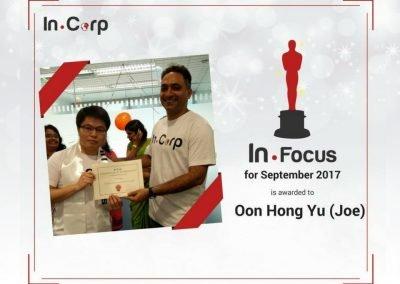In.Focus Awardee for Sept: Oon Hong Yu