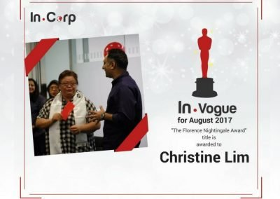 In.Vogye Awardee for August: Christine Lim