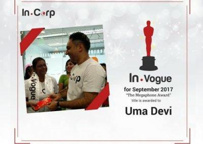 In.Vogue Awardee for Sept: Uma