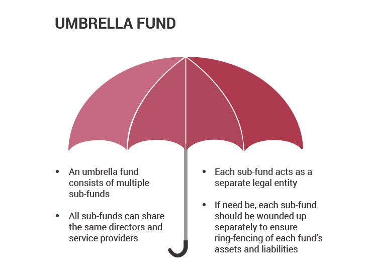 umbrella funds with several sub-funds